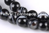 CAG146 5mm round madagascar agate gemstone beads Wholesale