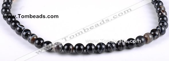 CAG147 Round 8mm madagascar agate gemstone beads Wholesale