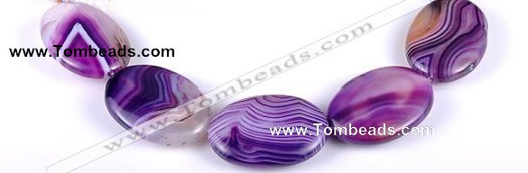 CAG158 Oval madagascar agate 25*35mm gemstone beads Wholesale
