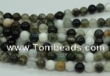 CAG1684 15.5 inches 4mm round ocean agate beads wholesale