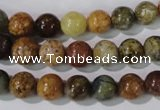 CAG1702 15.5 inches 8mm round rainbow agate beads wholesale