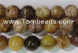 CAG1703 15.5 inches 10mm round rainbow agate beads wholesale