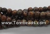 CAG2001 15.5 inches 6mm round rainbow agate beads wholesale