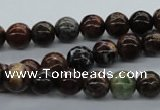 CAG2002 15.5 inches 8mm round rainbow agate beads wholesale