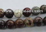CAG2003 15.5 inches 10mm round rainbow agate beads wholesale