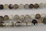 CAG2411 15.5 inches 6mm round Chinese botswana agate beads