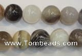 CAG2414 15.5 inches 12mm round Chinese botswana agate beads