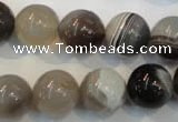 CAG2415 15.5 inches 14mm round Chinese botswana agate beads