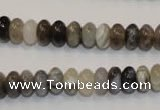 CAG2430 15.5 inches 5*8mm rondelle Chinese botswana agate beads