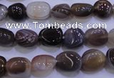 CAG2771 15.5 inches 8*12mm nuggets botswana agate beads wholesale