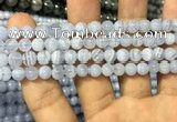 CAG3577 15.5 inches 6mm round blue lace agate beads wholesale