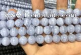 CAG3579 15.5 inches 10mm round blue lace agate beads wholesale