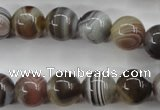 CAG3684 15.5 inches 12mm round botswana agate beads wholesale