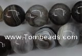 CAG3686 15.5 inches 16mm round botswana agate beads wholesale