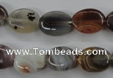 CAG3722 15.5 inches 12*16mm oval botswana agate beads wholesale