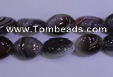 CAG4452 15.5 inches 10*14mm oval botswana agate beads wholesale