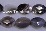 CAG4464 15.5 inches 13*18mm faceted oval botswana agate beads