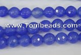CAG4506 15.5 inches 8mm faceted round agate beads wholesale