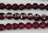 CAG4508 15.5 inches 8mm faceted round agate beads wholesale