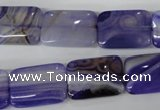 CAG4997 15.5 inches 13*18mm rectangle agate gemstone beads wholesale