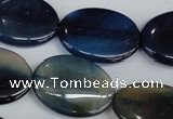 CAG5011 15.5 inches 21*28mm oval agate gemstone beads wholesale
