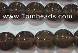 CAG5259 15.5 inches 14*15mm pumpkin Brazilian grey agate beads