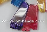 CAG5457 15.5 inches 12*25mm - 15*62mm freeform agate gemstone beads