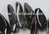 CAG5468 15.5 inches 8*20mm - 15*60mm freeform agate gemstone beads