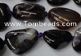CAG5530 15.5 inches 14*18mm - 22*32mm nuggets agate gemstone beads