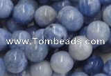 CAG555 16 inches 14mm round blue agate gemstone beads wholesale