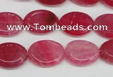 CAG5620 15 inches 13*16mm oval dragon veins agate beads wholesale
