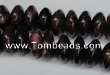 CAG5644 15 inches 8*16mm rondelle agate gemstone beads wholesale