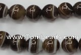 CAG5902 15 inches 10mm round Madagascar agate gemstone beads