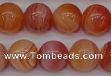 CAG6343 15 inches 10mm round red botswana agate beads wholesale