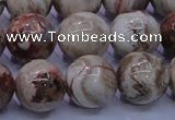 CAG6664 15.5 inches 12mm round Mexican crazy lace agate beads