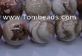 CAG6668 15.5 inches 20mm round Mexican crazy lace agate beads