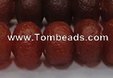 CAG6750 15 inches 10*14mm rondelle red pilates agate beads