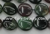 CAG6771 15.5 inches 14mm flat round Indian agate beads wholesale