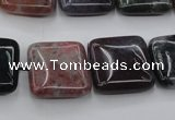 CAG6778 15.5 inches 12*12mm square Indian agate beads wholesale