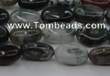 CAG6788 15.5 inches 8*10mm oval Indian agate beads wholesale