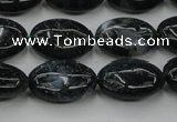 CAG6790 15.5 inches 12*16mm oval Indian agate beads wholesale