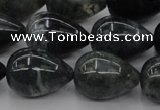 CAG6826 15.5 inches 13*18mm teardrop Indian agate beads wholesale
