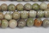 CAG7001 15.5 inches 6mm round ocean agate gemstone beads