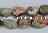 CAG7020 15.5 inches 10*12mm - 12*14mm nuggets ocean agate beads