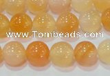 CAG7132 15.5 inches 8mm round red agate gemstone beads