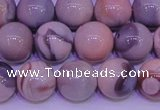 CAG7304 15.5 inches 12mm round red botswana agate gemstone beads