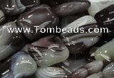 CAG738 15.5 inches 12*16mm rectangle botswana agate beads wholesale