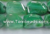 CAG8505 15.5 inches 15*20mm - 18*25mm freeform dragon veins agate beads