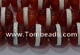 CAG9142 15.5 inches 10mm round tibetan agate beads wholesale