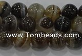 CAG9194 15.5 inches 8mm round line agate gemstone beads